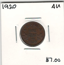 Canada 1920 Small 1 Cent AU
