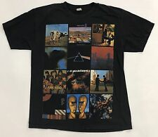Pink Floyd Wish You Were Here All Album Covers Music Band T-Shirt Black Slim Fit