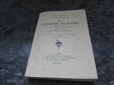 honore de balzac la comedie humaine editions louis conard paris