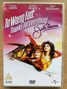 To Wong Foo DVD 1995 Thanks for Everything Julie Newmar Drag Queen Cult Comedy