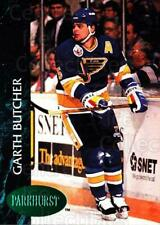 1992-93 Parkhurst Emerald #390 Garth Butcher