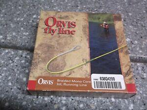 orvis fly line .30 838Q-420 orange line