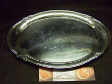 GORHAM SILVER LARGE OBLONG 1926 WAITIER SALVER SERVING TRAY  - VIEW ALL OUR LOTS