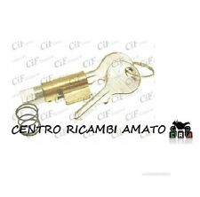 KIT CHIAVI SERRATURA GUIDA 4mm PER PIAGGIO APE MP P601 -MP 550