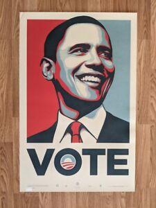 Shepard Fairey (b. 1970) x Barack Obama - VOTE - c. 2008, Limited Edition Print