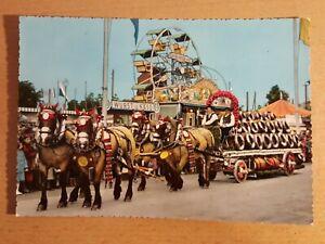 Postkarte um 1960 München - Gruss vom Oktoberfest