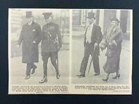 "1938 Newspaper Clipping ""B"" SPECIALS PARADE, VISCOUNT VISCOUNTESS CRAIGAVON"