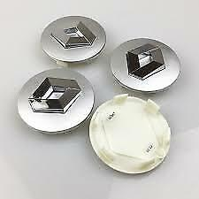 GENUINE BRAND NEW WHEEL HUB CAP 57mm SILVER 4EA SET SUITS RENAULT KOLEOS