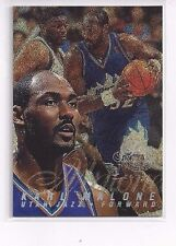 1996-97 FLAIR SHOWCASE BASKETBALL KARL MALONE SECTION #0 ROW #1 SEAT #28