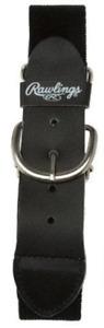 Rawlings Adult Adjustable Baseball Belt - Black