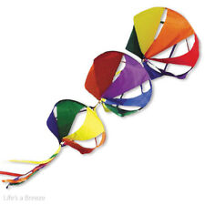 Giant Basket Spin Set Rainbow Colours Windsock Flag Pole Use. 15in x 13in x 11in