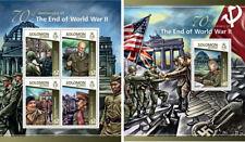 World War II Military Wars Zhukov Weltkrieg Solomon Islands MNH stamp set