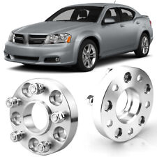 """2pcs 1"""" Wheel Spacers Centric Hub Adapters 5x4.5 67.1mm 12x1.5 For Dodge Avenger"""