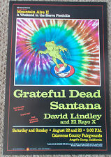 GRATEFUL DEAD POSTER SANTANA David Lindley ORIGINAL BIll Graham BGP17Owseichik