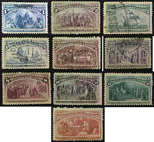 1893 Columbus Stamps 1c to 30c Mint or Used. Choice of stamps.