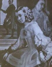 Dona Isabel de Velasco, Las Meninas, Diego Velasdquez, Magic Lantern Glass Slide