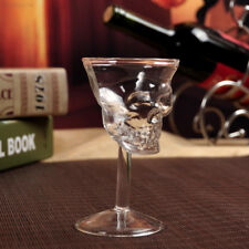 1Pc Crystal Skull Head Shot Whiskey Wine Glass Cup Glassware Decanter
