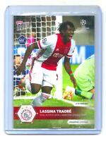 Topps NOW 2020 UCL #10 Lassina Traore Rookie Card RC AFC Ajax Amsterdam