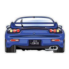RX7 JDM Sticker Decal Car JDMSB Garage Drift Vinyl #1506K