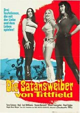 FASTER PUSSYCAT KILL KILL German A1 movie poster RUSS MEYER TURA SATANA