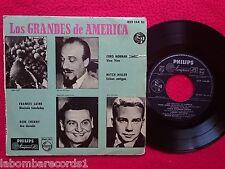 "FRANKIE LAINE DON CHERRY MITCH MILLER los grandes de america 7"" 1958 (vg/ex-) 3"