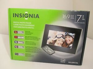 """Insignia 7"""" Digital Picture Frame NS-DPF7G 