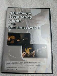 Adjusting a Steel String Guitar with Kent Carlos Everett DVD