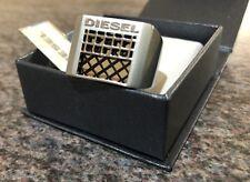 Diesel Men's Ring Stainless Steel 21mm diameter.  New with Tags