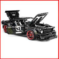 42056 Mustang Technic Car racecar Building Blocks Bricks 42065 MOC