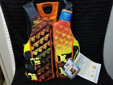 New With Tags Stearns Adult Small Performance Vest V1 Series Flotation Device