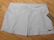NIKE Maria Sharapova DRI-FIT Tennis Skirt with Shorts sz XL NWT  LIGHT GRAY