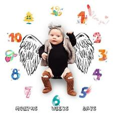 Baby Milestone Photo Prop Blanket You Choose