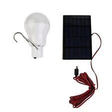 Solar Powered led lamp Outdoor/Indoor System Lighting 1 Bulb solar panel