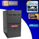 Goodman 80k 80% Upflow/Horiz. Gas Furnace, GHS80805CX, Scratch & Dent, New