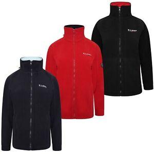 Womens Fleece Jacket Ladies Top Jumper Sweater Full Zip Hooded Winter Warm Navy