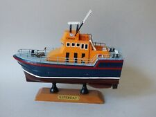 More details for collectable rnli royal navy lifeboat nautical model rescur boat kit free uk p+p
