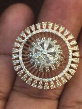 Stunning 2.56 Cts Natural Diamonds Anniversary Ring In Solid Certified 14K Gold