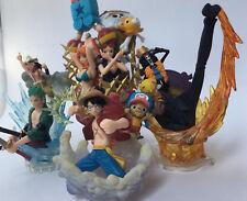 One Piece Straw Hat Pirate Set - Luffy Zoro Sanji Nami Robin Usopp Franky Brook