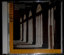 WILLIAM BYRD MASS FOR FOUR VOICES QUINK VOCAL ENSEMBLE CD VERSIEGELT SEALED