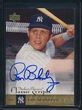 2004 Upper Deck Yankee Classics Classic Scripts Autograph Auto Ron Blomberg