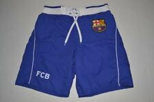 FCB BARCELONA BLUE BOARD SHORTS SWIM TRUNKS MENS SIZE 32 NEW