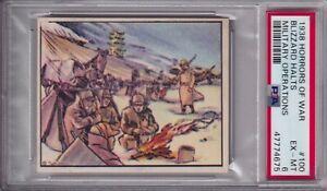 1938 HORRORS OF WAR #100 BLIZZARD HALTS MILITARY OPERATIONS PSA 6