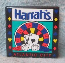 Harrah's Casino Atlantic City Magnet Souvenir Travel Refrigerator