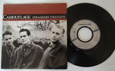 Camouflage Strangers thoughts promo copy -1988-45T-Barclay french Vinyl -EX/EX-