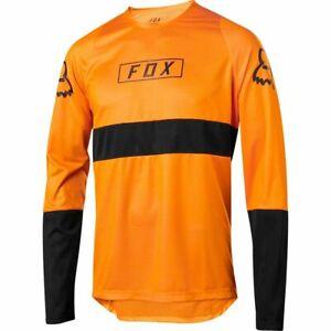 Fox Racing Defend Long Sleeve L/S Fox Jersey Atomic Orange