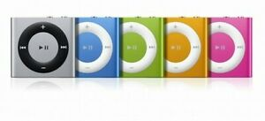Apple iPod Shuffle 4th Gen 2GB - All Colours - MP3 Player ** 3 MONTH WARRANTY**