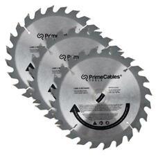 PrimeCables® 6 1/2'' 24T Circular Saw Blade 3Pcs/Pack
