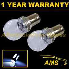 2X 380 BAY15D 1157 WHITE 3 CREE LED STOP TAIL BRAKE LIGHT BULBS ST203201