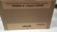 ORIGINALE Olivetti b0567 TONER NERO D-COPIA 300mf 400mf 500mf a-Ware