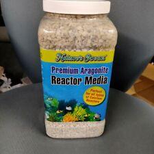 1 Gallon / 3.79 Liters - Nature's Ocean Premium Aragonite Reactor Media